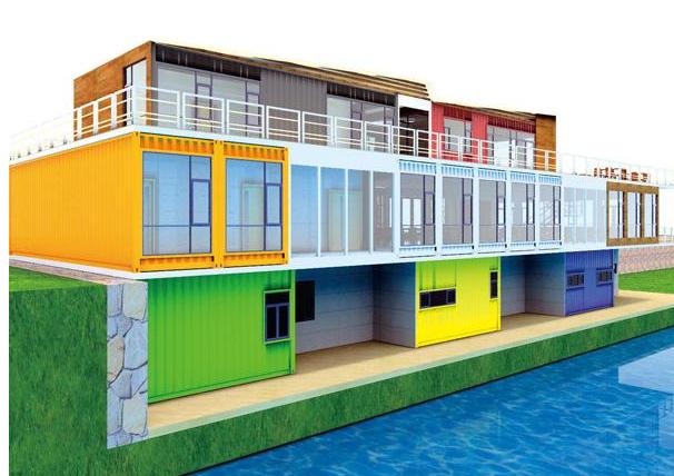 北海集裝箱房租賃的房子還是很好看的