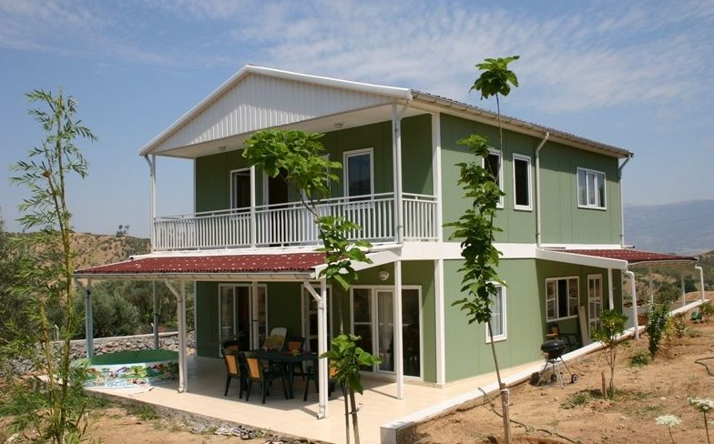 廣西輕鋼別墅安裝工程